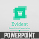 Envident PowerPoint Template - GraphicRiver Item for Sale