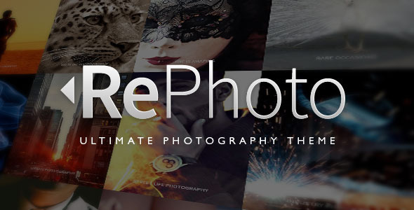 ThemeForest RePhoto Photography Responsive Muse Template 11189883