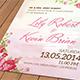Flower Wedding Invitation Pack - GraphicRiver Item for Sale