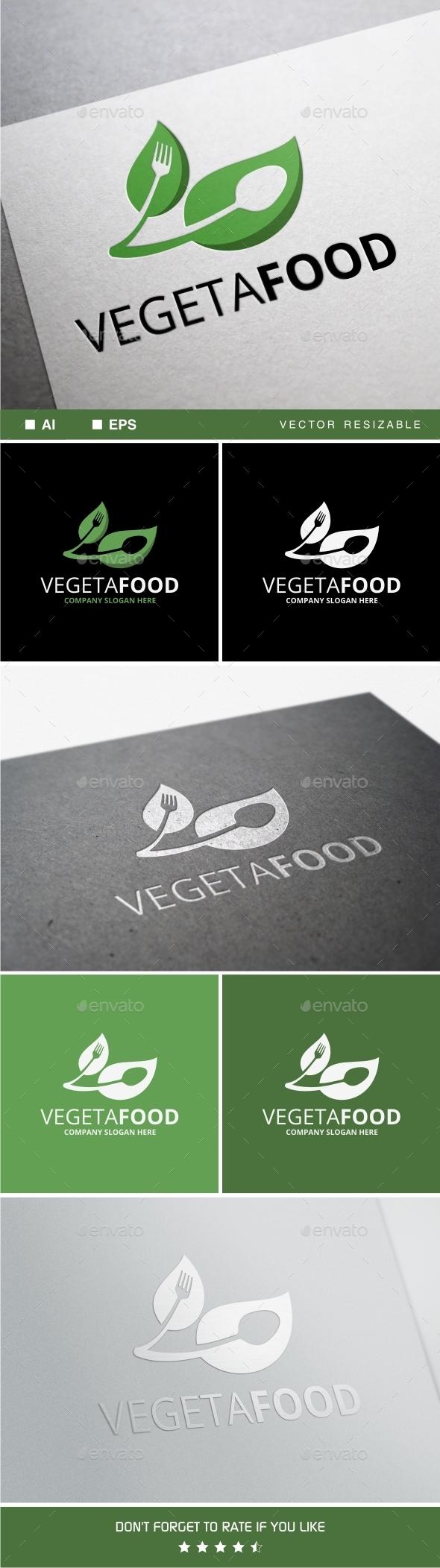 GraphicRiver Vegetafood Logo 11254565
