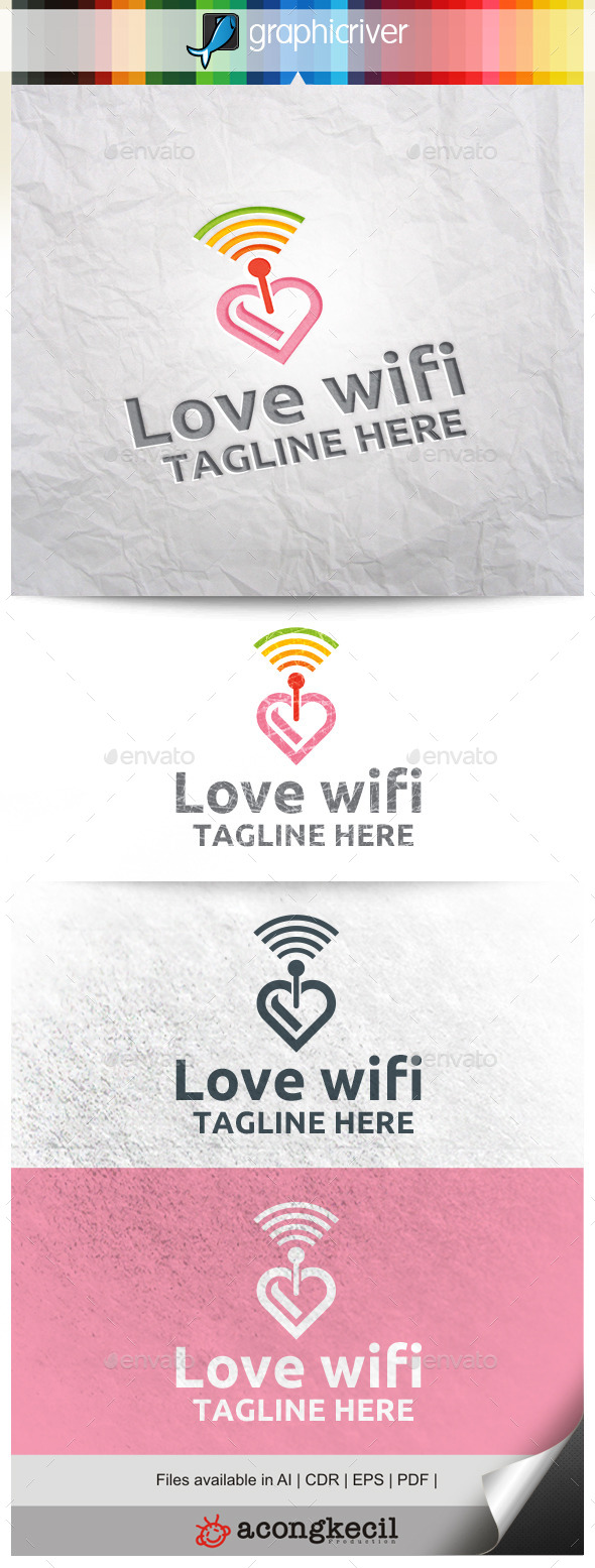 GraphicRiver Love Wifi 11254855