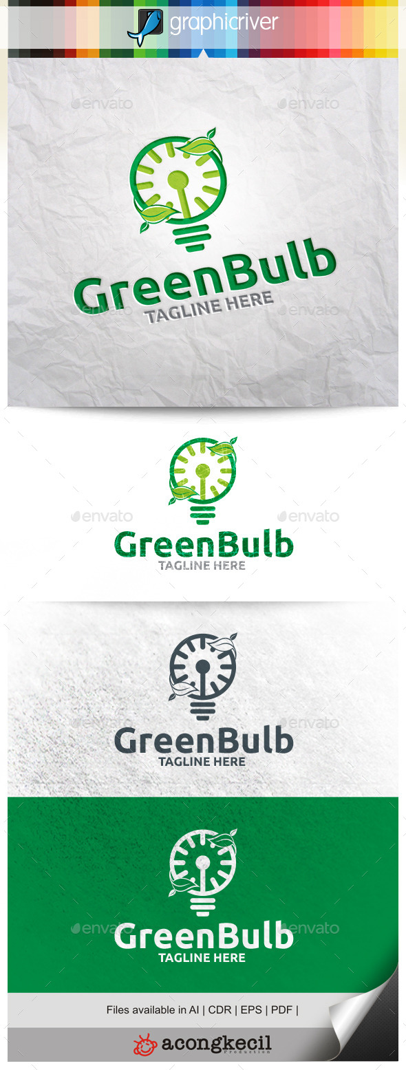 GraphicRiver Green Bulb 11254919