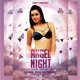 Angel Night Party Flyer. - GraphicRiver Item for Sale
