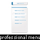 professional styled multi-level dropdown menu - GraphicRiver Item for Sale