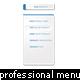 professional styled multi-level dropdown menu