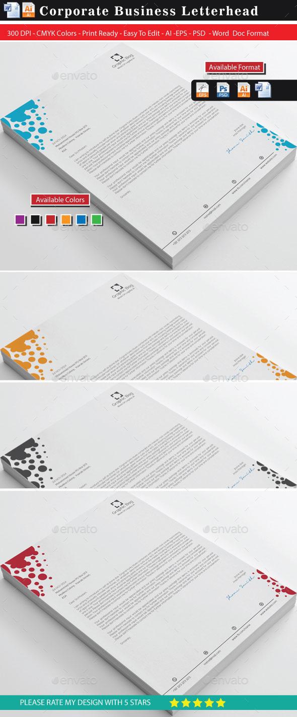 GraphicRiver Letterheads 11255187