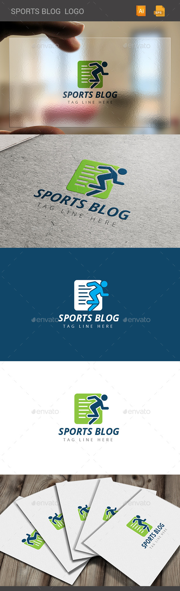 GraphicRiver Sports Blog 11208174