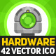 Harware 42 Vector Flat Icon - GraphicRiver Item for Sale