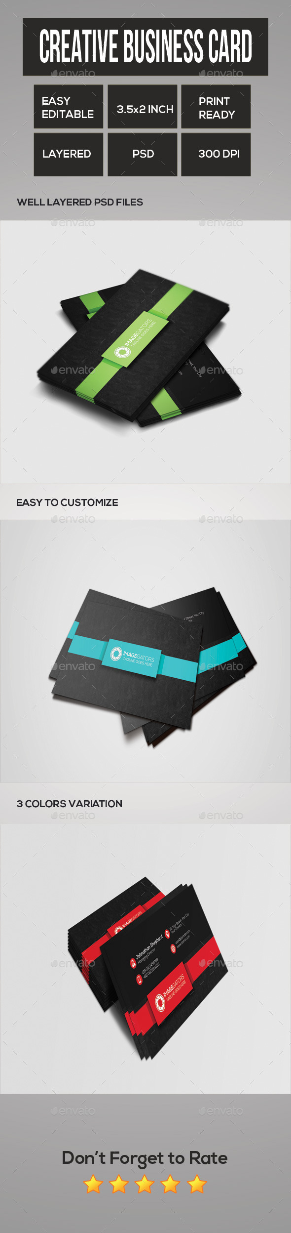 GraphicRiver Creative Business Card 11255539