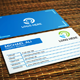 Simple Corporate Business Card V.1 - GraphicRiver Item for Sale
