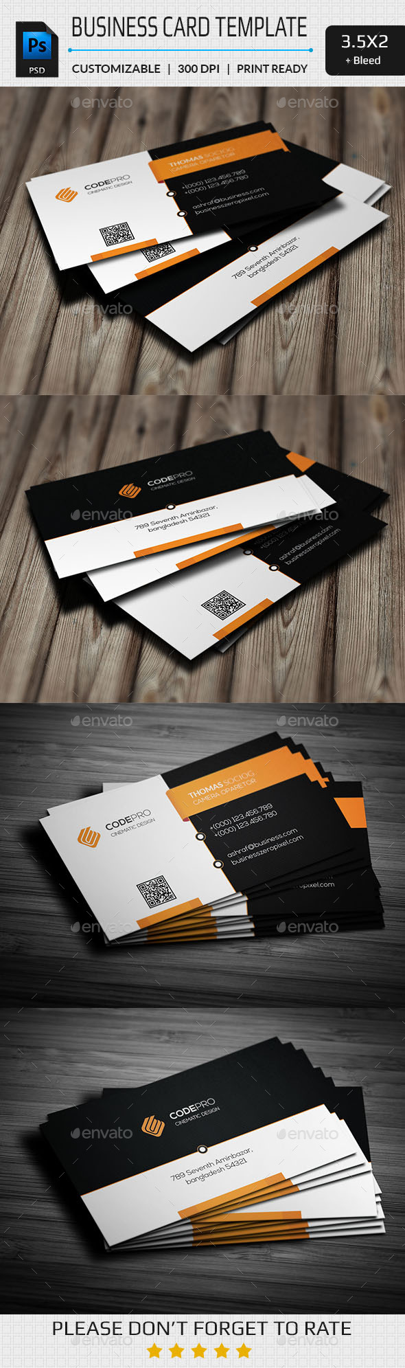 GraphicRiver Creative Business Card 11255703