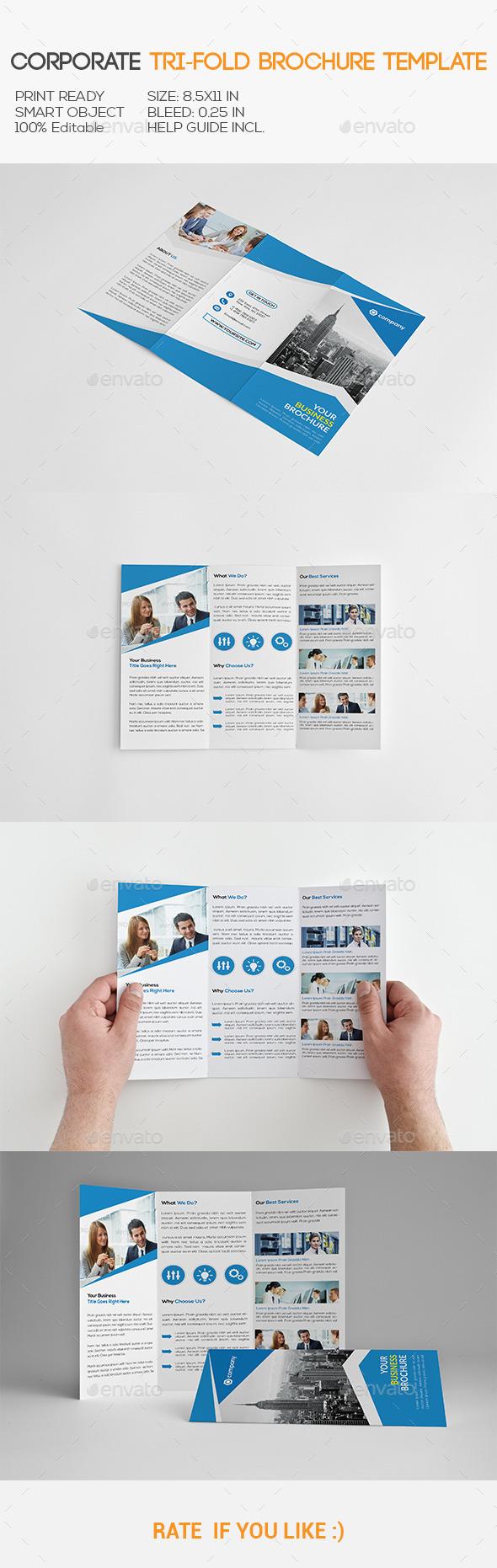 GraphicRiver Corporate Trifold Brochure 11255738
