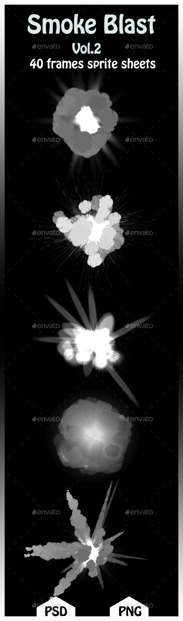 GraphicRiver Smoke Blast Vol.02 11255786