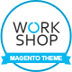 Workshop Responsive & Retina Ready Magento Theme  - ThemeForest Item for Sale