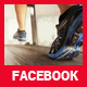 Running Shoes Facebook Cover - GraphicRiver Item for Sale