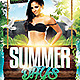 Summer Days Club Flyer Template - GraphicRiver Item for Sale