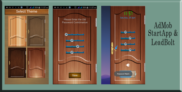 CodeCanyon Door Screenlock with Admob StartApp and LeadBolt 11255868