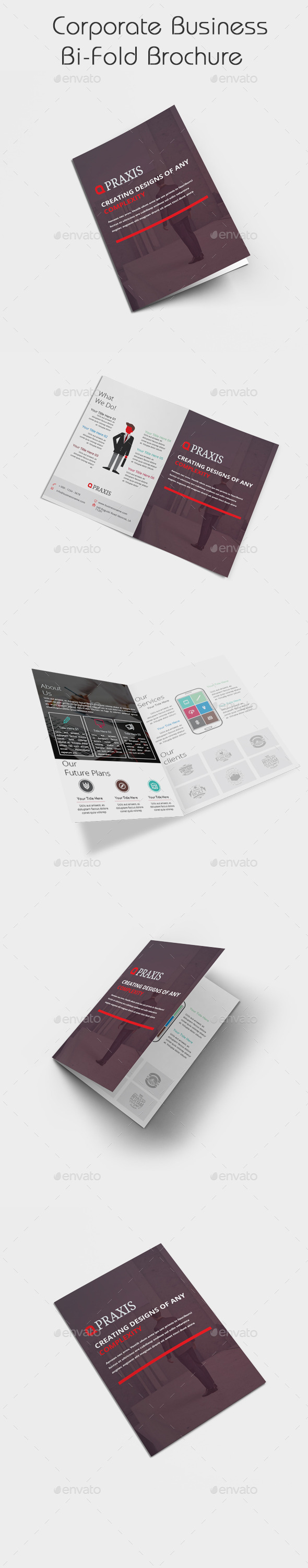 GraphicRiver Corporate Business Bi Fold Brochure 11255888