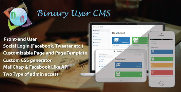 CodeCanyon Binary User CMS 11255890