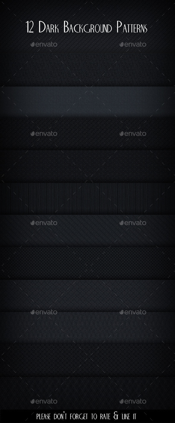 GraphicRiver 12 Dark Background Patterns 11256057