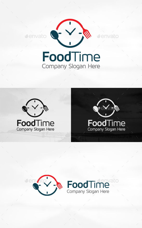 GraphicRiver Food Time Logo 11256218