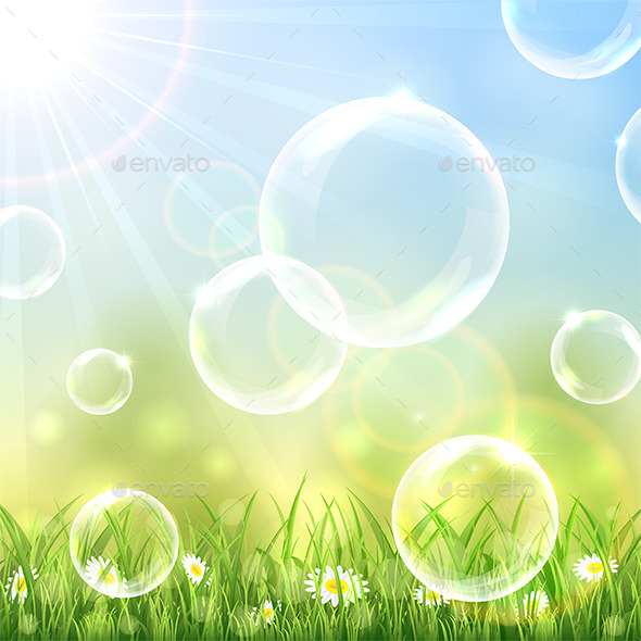 GraphicRiver Flying Bubbles 11256229