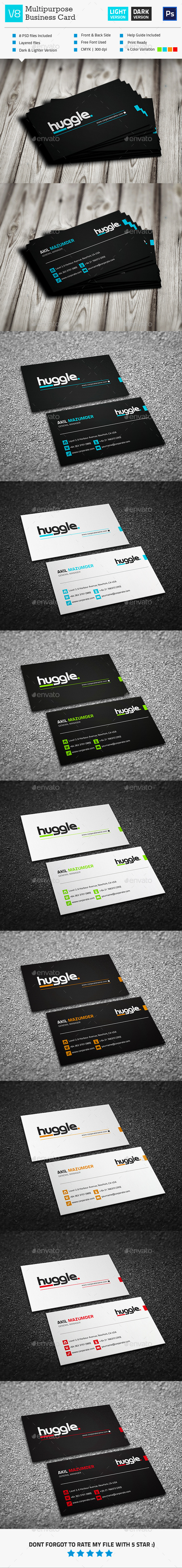 GraphicRiver Business Card V8 11256269