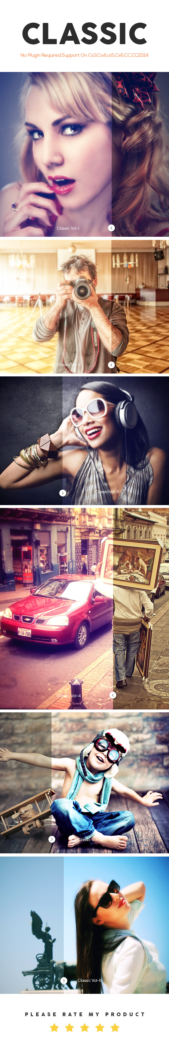 GraphicRiver Classic Photoshop Action 11256277