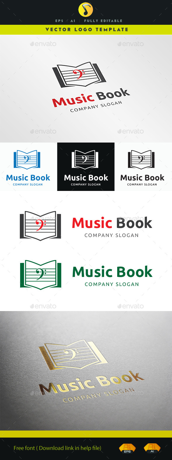 GraphicRiver Music Book V.2 11256312