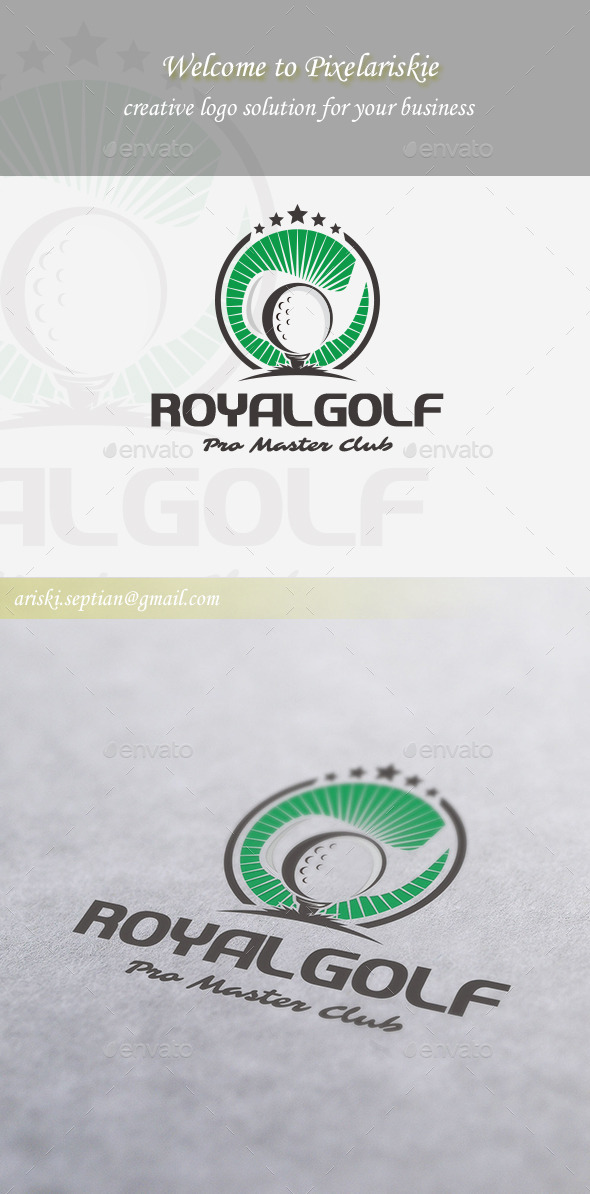 GraphicRiver Master Golf Logo 11256315