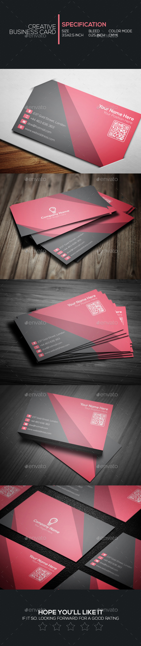 GraphicRiver Creative Business Card 14 11251943