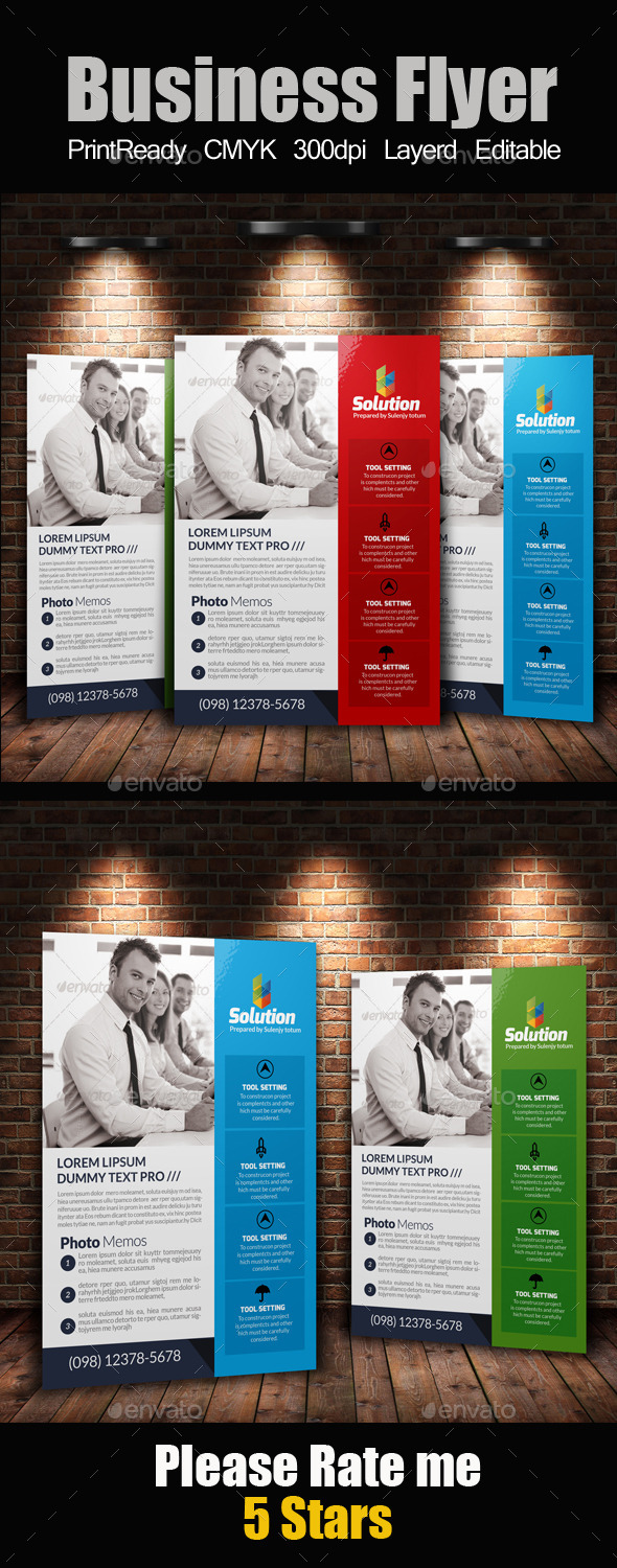 GraphicRiver A4 Business Flyer Template 11256474