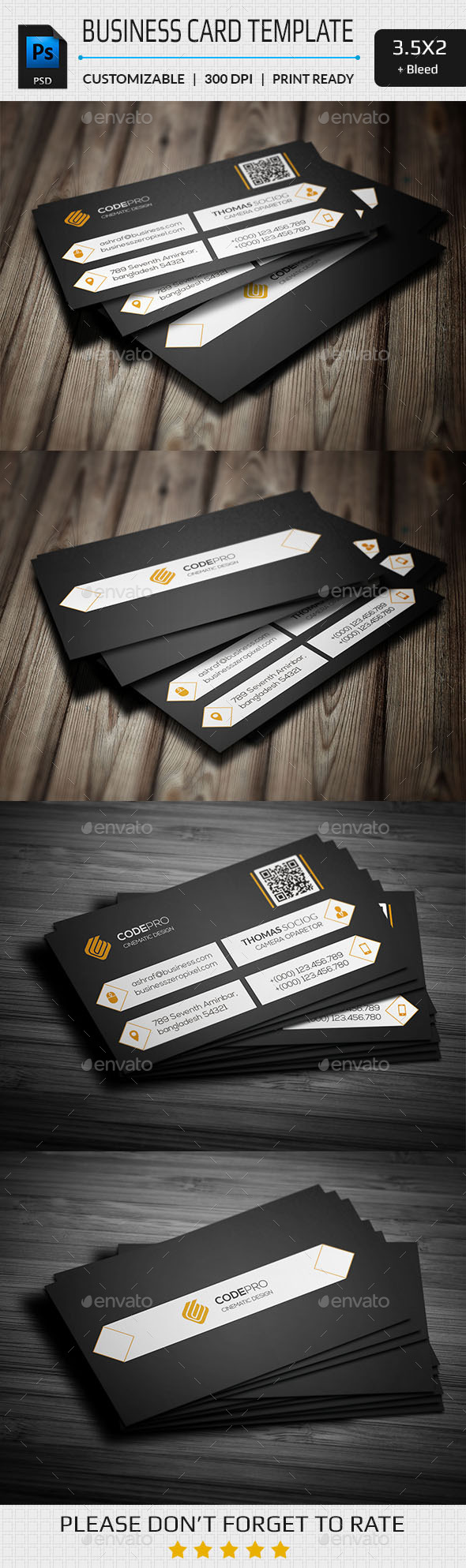 GraphicRiver Business Card Template 11256495