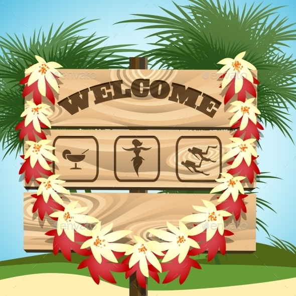 GraphicRiver Welcome To Paradise 11256605