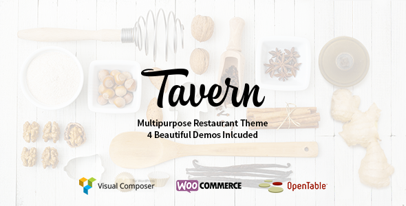Tavern - Professional Restaurant Theme