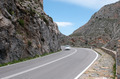Car passing a Gorge in Crete, Cyprus - PhotoDune Item for Sale