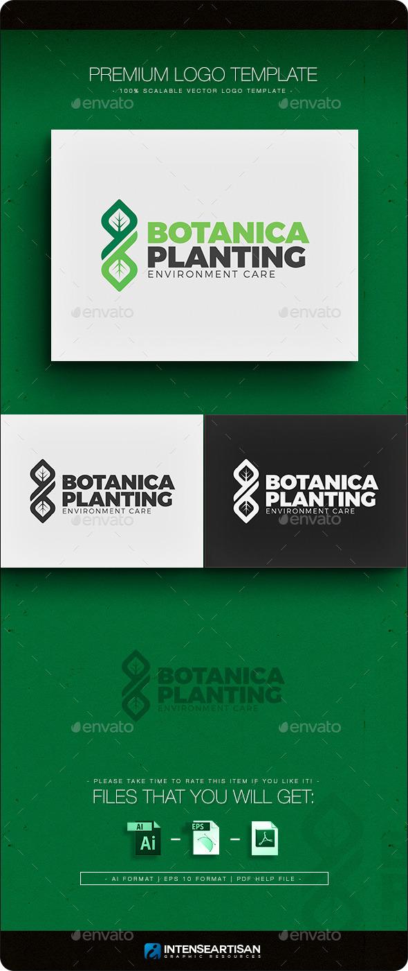 GraphicRiver Botanica Planting Logo Template 11257263