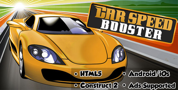 CodeCanyon Car Speed Booster HTML5 Android CAPX 11257370