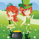 Leprechaun Boy and Girl - GraphicRiver Item for Sale