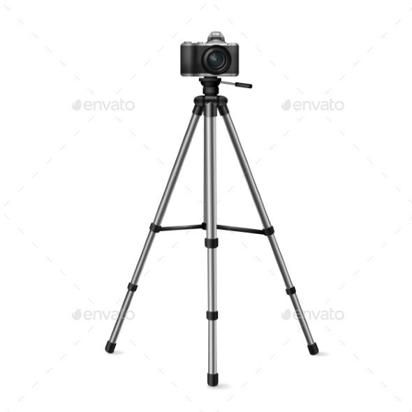 GraphicRiver Camera On a Tripod 11257483