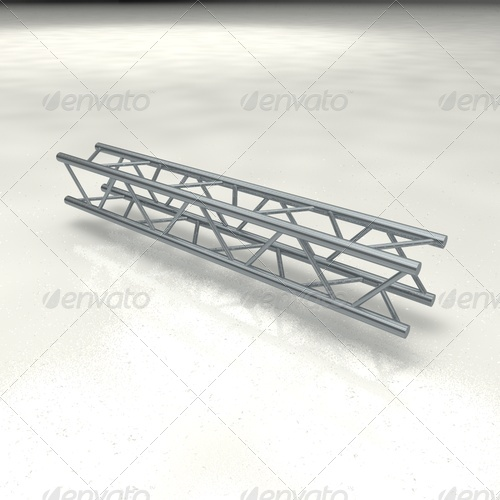 truss quattro straight - 3DOcean Item for Sale