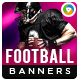 Football Banners - GraphicRiver Item for Sale