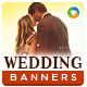 Wedding Planning Banners - GraphicRiver Item for Sale