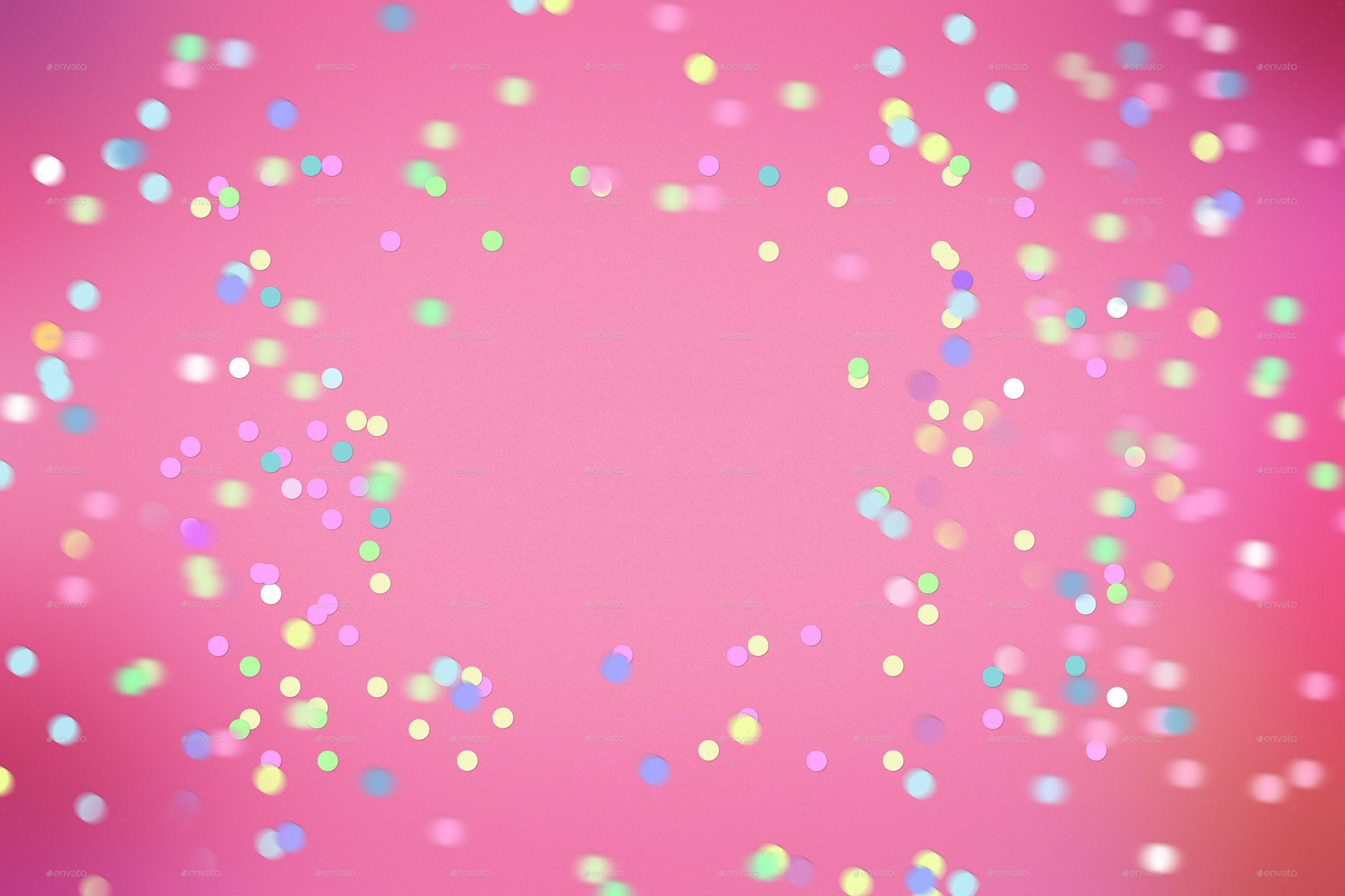 15 Confetti Backgrounds By MApictures GraphicRiver