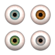 Eyes (Blue, Brown, Green, Grey) - 3DOcean Item for Sale