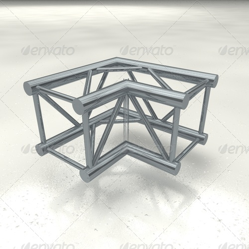 truss quattro corner - 3DOcean Item for Sale