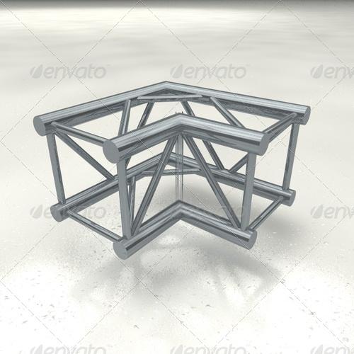3DOcean truss quattro corner 139107
