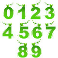 Green nature digits - PhotoDune Item for Sale