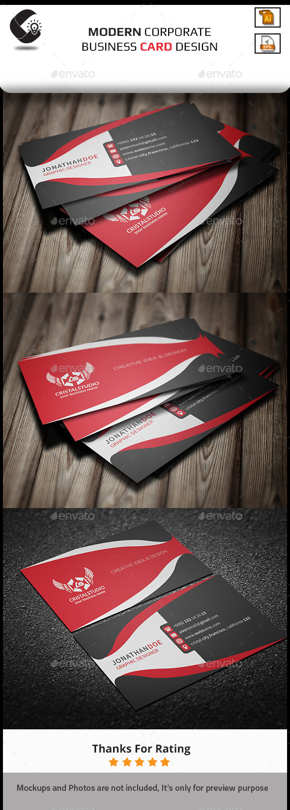 GraphicRiver creative Business Card 11257926
