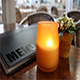 Cafe Table With Candle - VideoHive Item for Sale